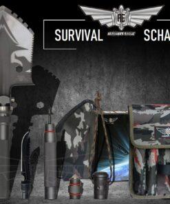 Outdoor-Schaufel, Multifunktions-Werkzeug, kaufen Schweiz, online-shop, https://www.survivo.ch