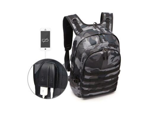 Outdoor-Rucksack mit USB Anschluss Smartphone laden unterwegs, USB-Rucksack Produkt kaufen Schweizer Outdoor-Shop
