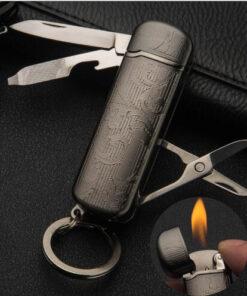 Schlüsselanhänger Multitool Feuerzeut