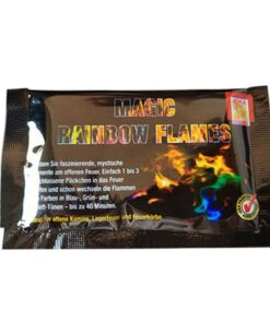 Feuerpulver, farbiges Feuer