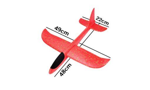 Kinder Spiel-Flugzeug biegbar, robust , stabil, Styropor-Flieger kaufen Schweiz