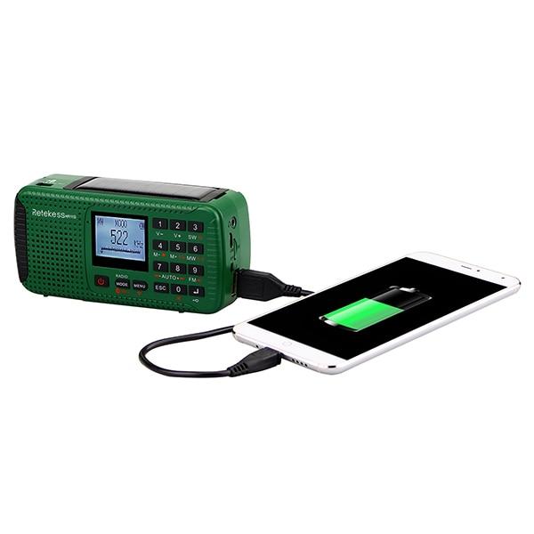 Survival Radio multifunktional handbetrieben aufladbar Solarpanel Schweiz kaufen