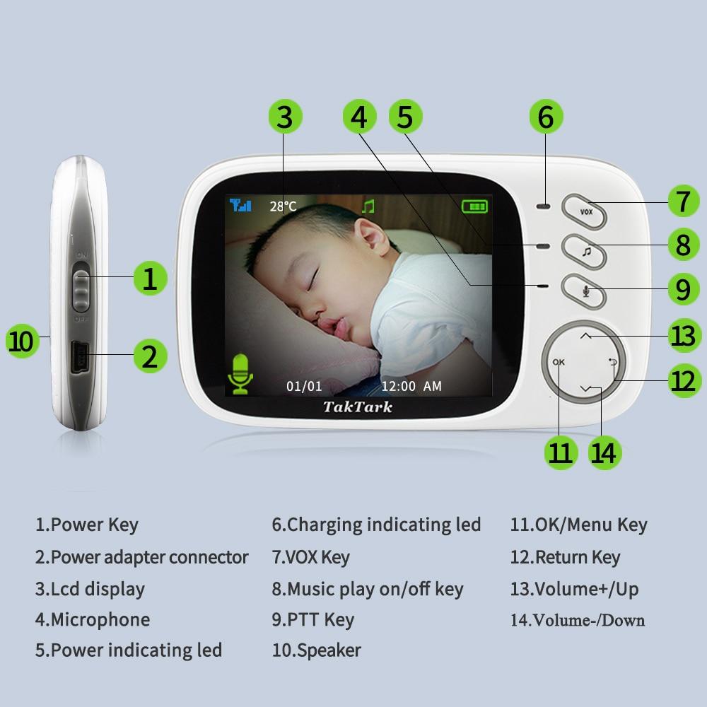 Überwachungskamera, WLAN Babyphone, Baby Monitor kaufen Schweiz