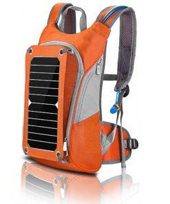 Outdoor Wander-Rucksack mit Solarpanel Solarzelle und USB Anschluss zum Smartphone laden, Survival, Outdoor Rucksack Produkt günstig kaufen im Online-Shop Schweiz Survivo.ch