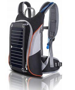 Wander-Rucksack mit Solarpanel, Solarzelle und USB Anschluss Outdoor-Shop Schweiz