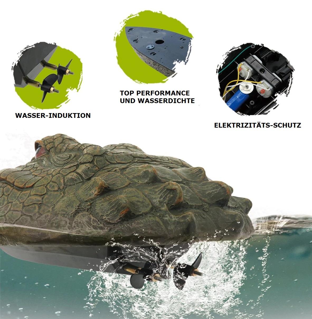ferngesteuer Alligator-Kopf Boot, ferngesteuerter Alligator Onlineshop Schweiz,Krokodil Kopf mit Fernbedienung,