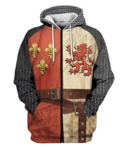Ritter Pullover, Hoodie, Ritter Mittelalter Optik, Mittelalter Shop Schweiz,