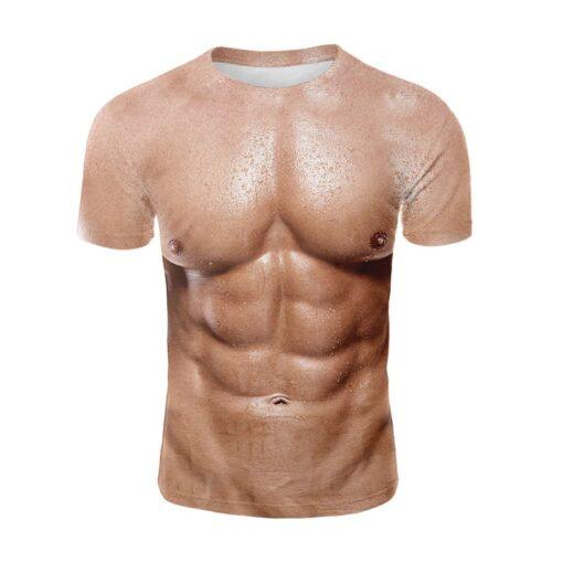 3d Druck Muskel T-Shirt, Sixpack Shirt, Sparta Mittelalter Shop