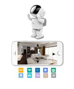 Überwachungskamera, Kamera-Roboter Produkte, Fernsteuerbarer Roboter mit WLAN Überwachungskamera kaufen, Onlineshop Schweiz