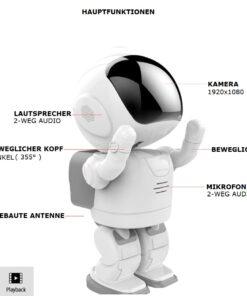 Kamera-Roboter, Fernsteuerbarer Roboter mit WLAN Überwachungskamera kaufen