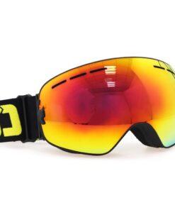 Skibrille, Snowboard Brille, getönt, Anti-Fog