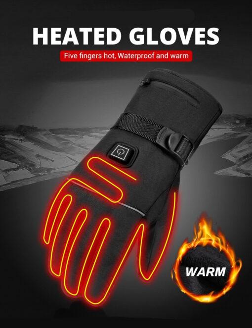 Beheizte beheizbare Handschuhe