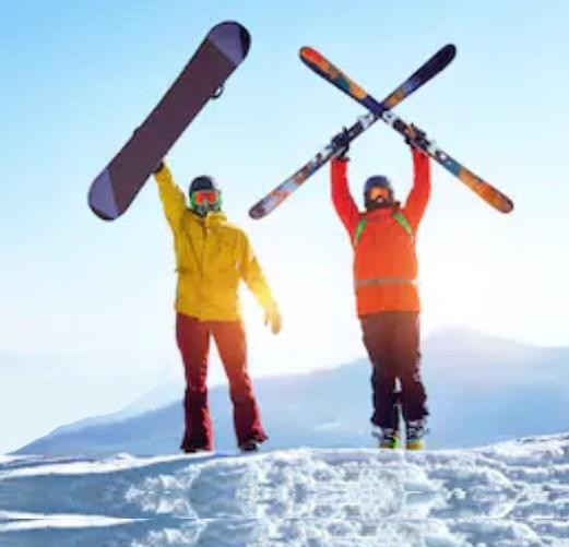 Outdoor Winter-Sport Wander Ski Snowboard Ausrüstung