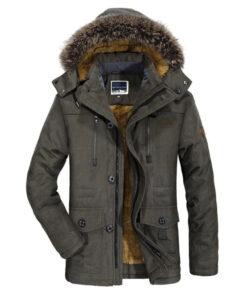 Winter Fell-Jacke, Winterbekleidung, Pelzmantel, Vegan, Outdoor Bekleidung-Shop Schweiz