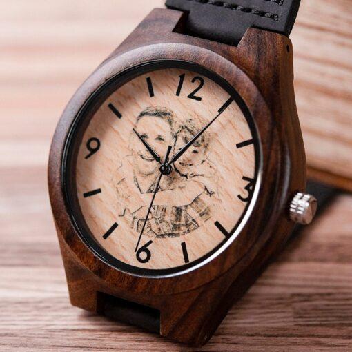 Uhr mit eigenem Foto