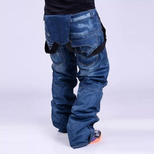 Skihose in Jeans-Optik