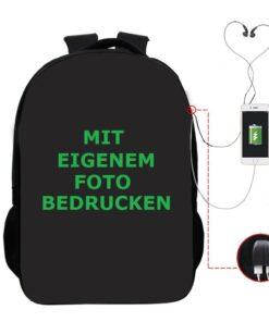Wander-Rucksack mit eigenem Foto bedrucken
