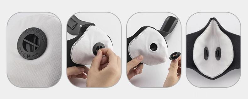Atemschutz Gesicht Maske gegen COVID, Virus kaufen Schweiz