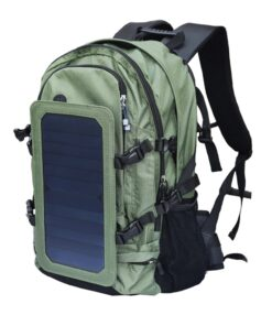 Solar-Rucksack Wanderrucksack mit Solarzelle