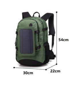 Solar-Rucksack Wanderrucksack mit Solar