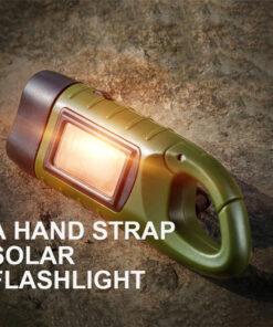 Solar Taschenlampe mit Handkurbel Schweiz