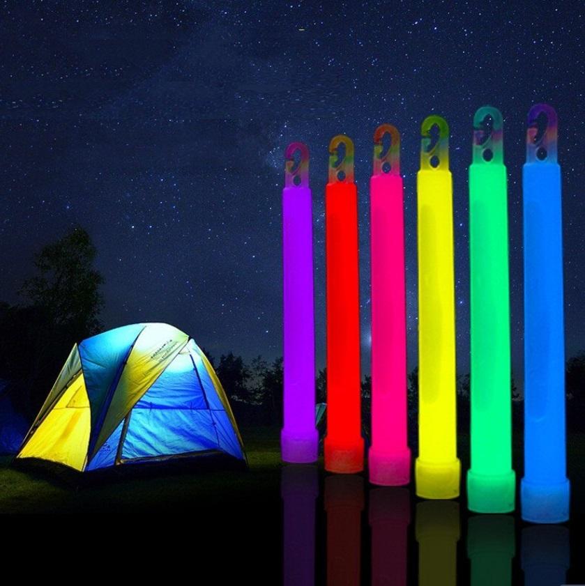 Camping Ausrüstung Leuchtstäbe, Knicklichter