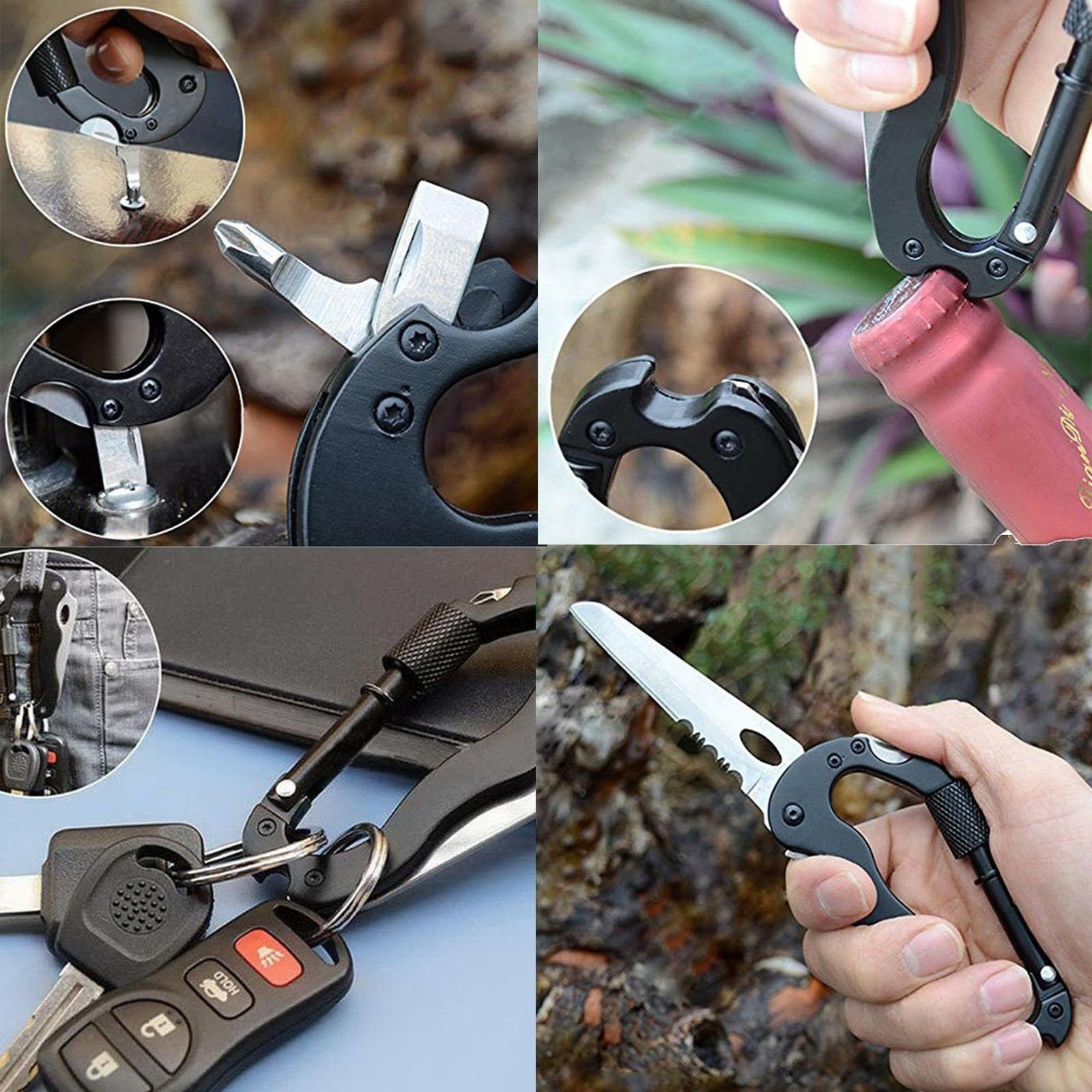 Karabiner Messer Multitool Werkzeug