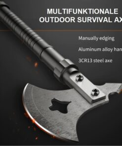 MULTIFUNKTIONALE OUTDOOR SURVIVAL AXT, Camping, Werkzeug, Multifunktions Axt