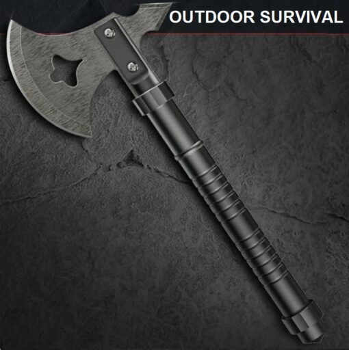 Survival Shop Schweiz, MULTIFUNKTIONALE OUTDOOR SURVIVAL AXT, Camping, Werkzeug, Multifunktions Axt