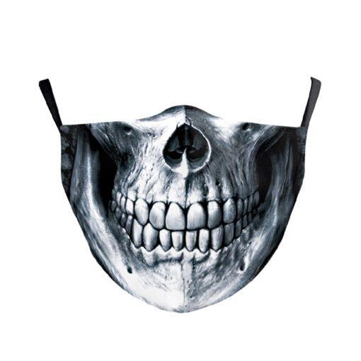 Stoffmaske mit totenschädel Skull Sujet
