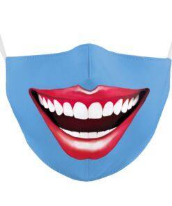 Stoffmaske mit Damen Mund Gesichtsmaske kaufen