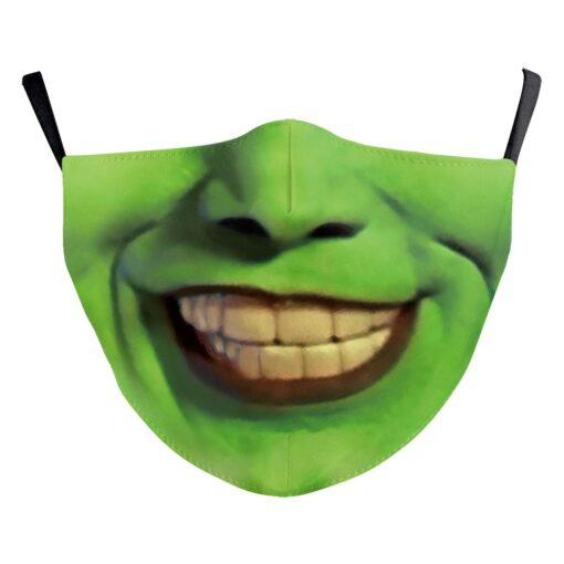 """Bedruckte Stoffmaske """"die Maske"""" kaufen Schweiz"""