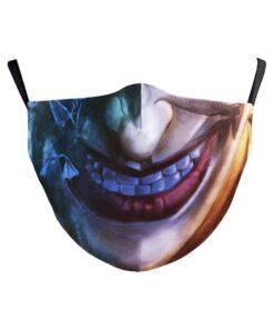 Batman Joker Stoffmaske Mundschutz kaufen Schweiz