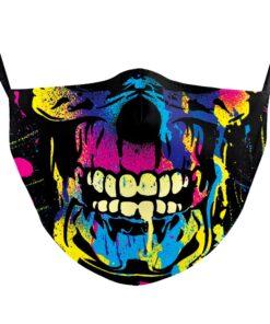 Stoffmaske bedruckt lustige Gesichtsmasken kaufen Schweiz