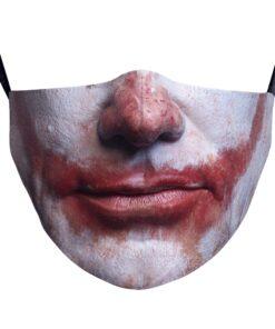Stoffmaske mit 3D Sujets Halloween Gesichtsmaske Hygienemasken Schweiz