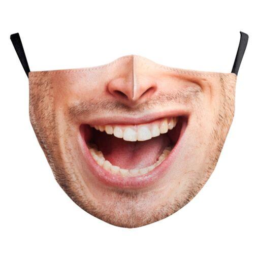 Stoffmaske mit echtem Gesicht 3d-Druck Gesichtsmaske hygienemasken atemschutz kaufen schweiz