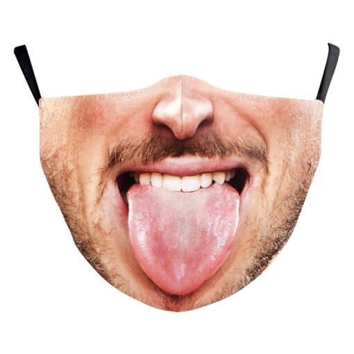 Stoffmaske mit Foto Druck Schweiz
