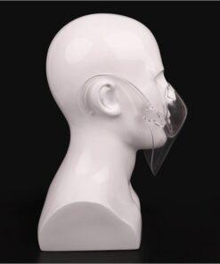 Clear-Shield Schweiz durchsichtige transparente Gesichtsmaske als Mundschutz
