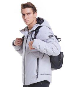 beheizbare Jacke mit Heizfunktion, USB Heizjacke Infrarot Jacke