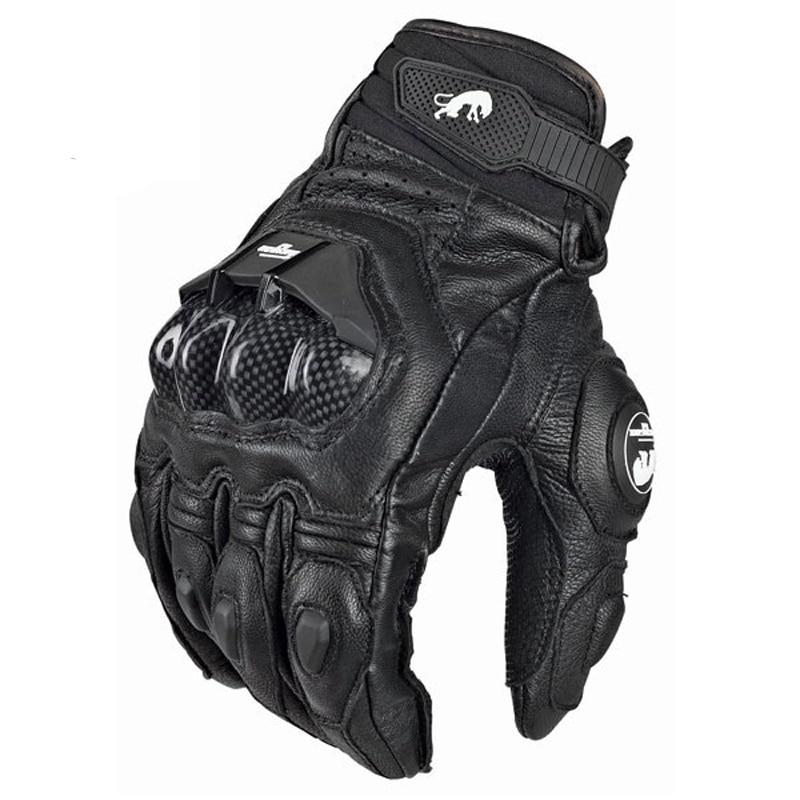 kurze Motorrad Handschuhe Schwarz Weiss kaufen Schweiz