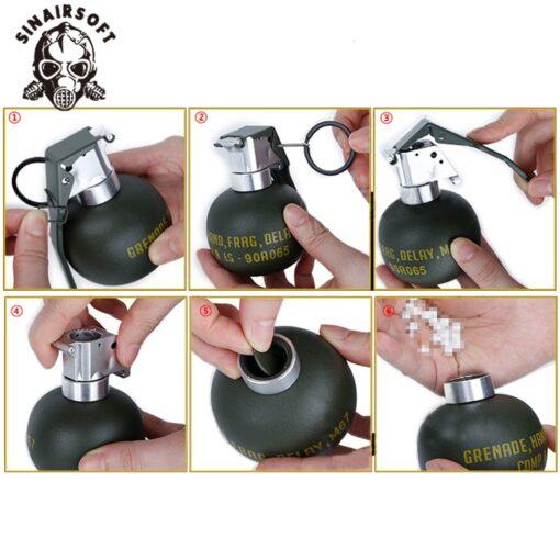 BB Gun Granate Kugel Behälter