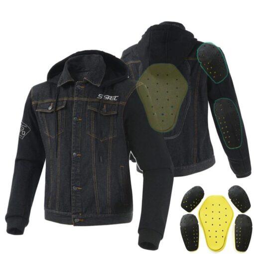 Motorrad-Hoodie Motorrad-Pullover mit integrierten Schützen kaufen Shop Schweiz