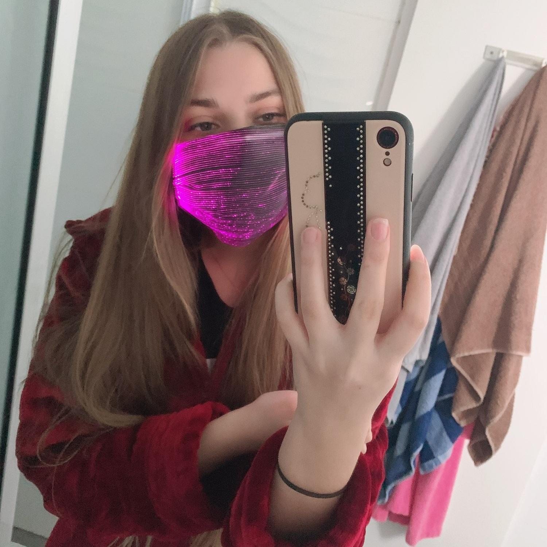Mundschutz Hygienemaske Maske mit LED beleuchtung kaufen schweiz