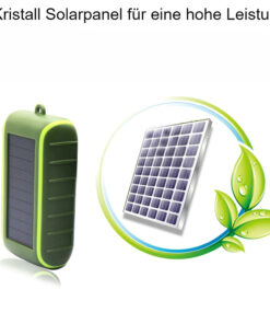 Kurbel Solar Powerbank