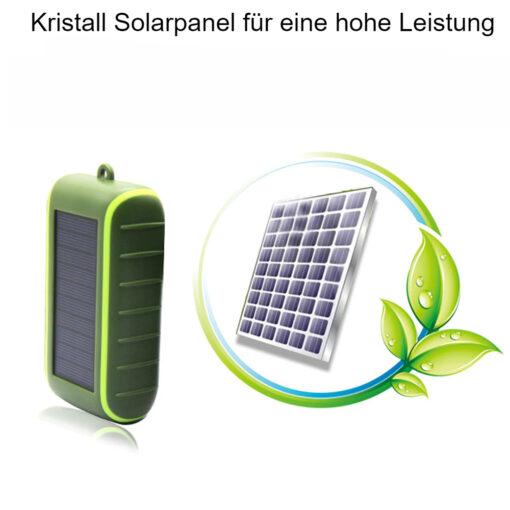 Kurbel Solar Powerbank