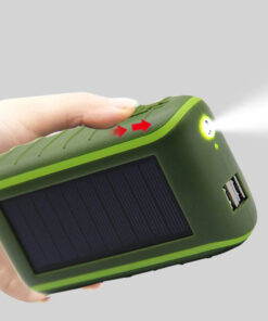 Notfall Kurbel Solar Powerbank kaufen Schweiz