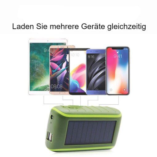 Solar Kurbel Powerbank