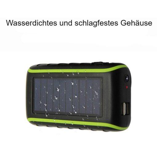 Solar Kurbel Powerbank Schweiz