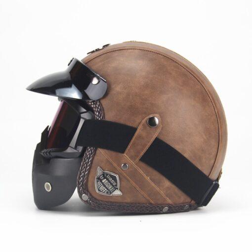 Motorrad Chopper Helm offen kaufen