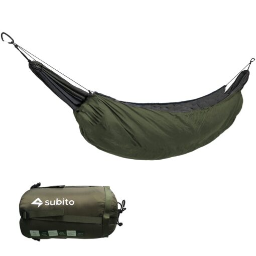 Hängematte als Schlafsack Camping Schweiz